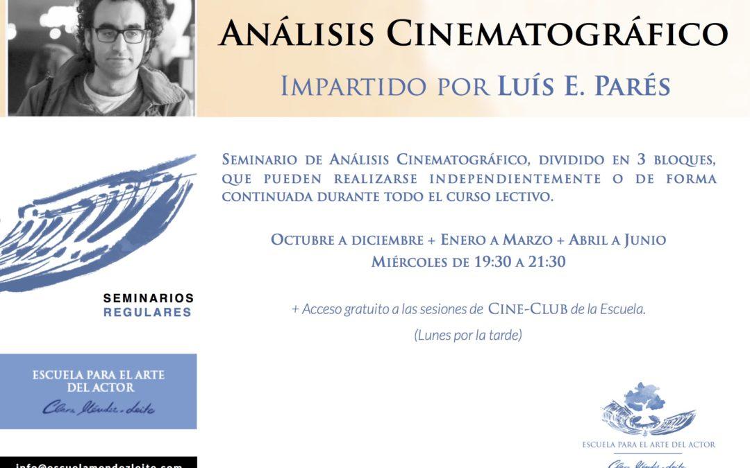 Análisis Cinematográfico – Seminario regular
