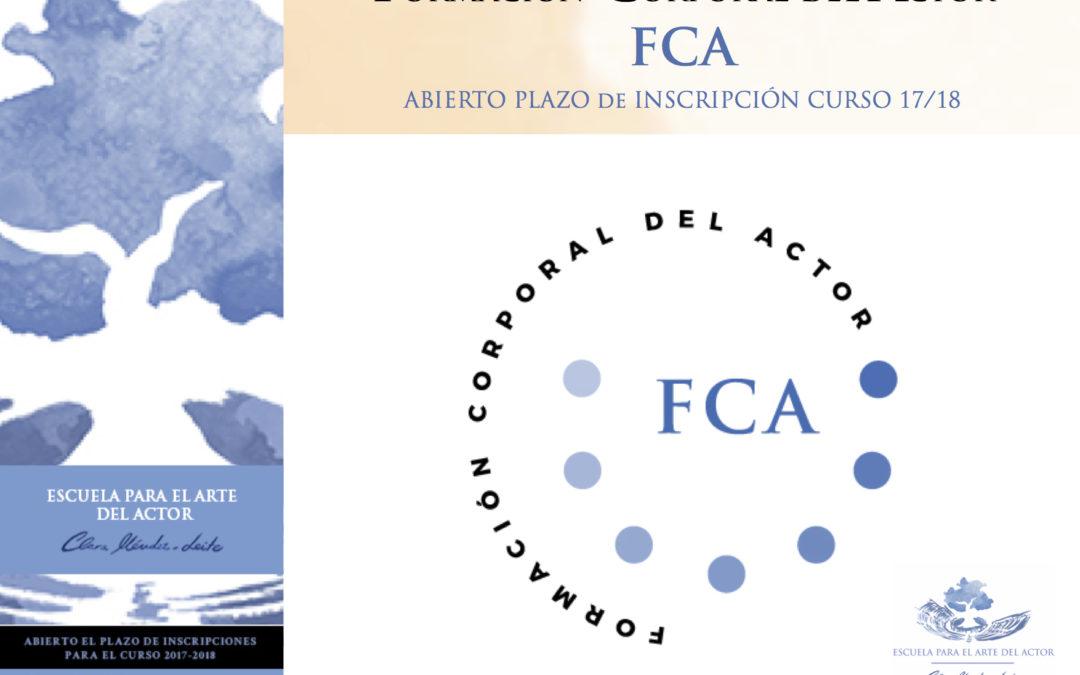 FCA – Formación Corporal del Actor