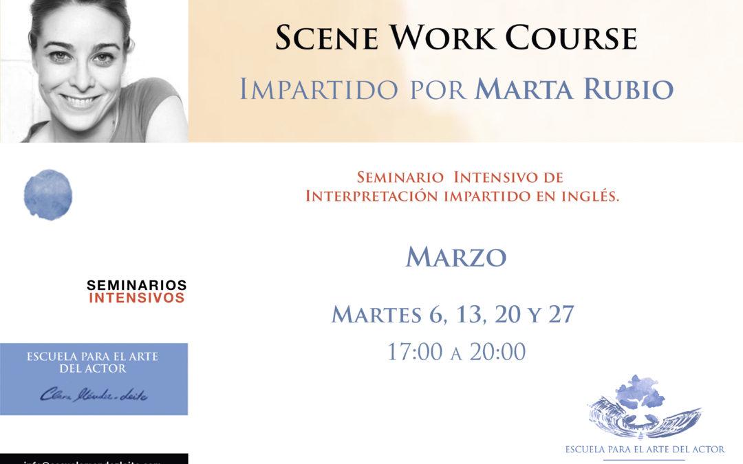 Scene-Work Course