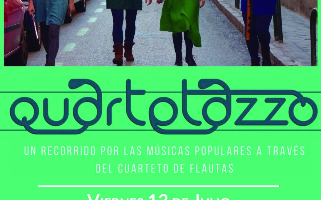 Quartetazzo, flautas que cuentan