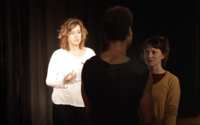 Yael Belicha profesora de Interpretación