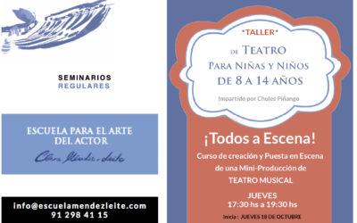 Taller de Teatro Musical ¡Todos a Escena!