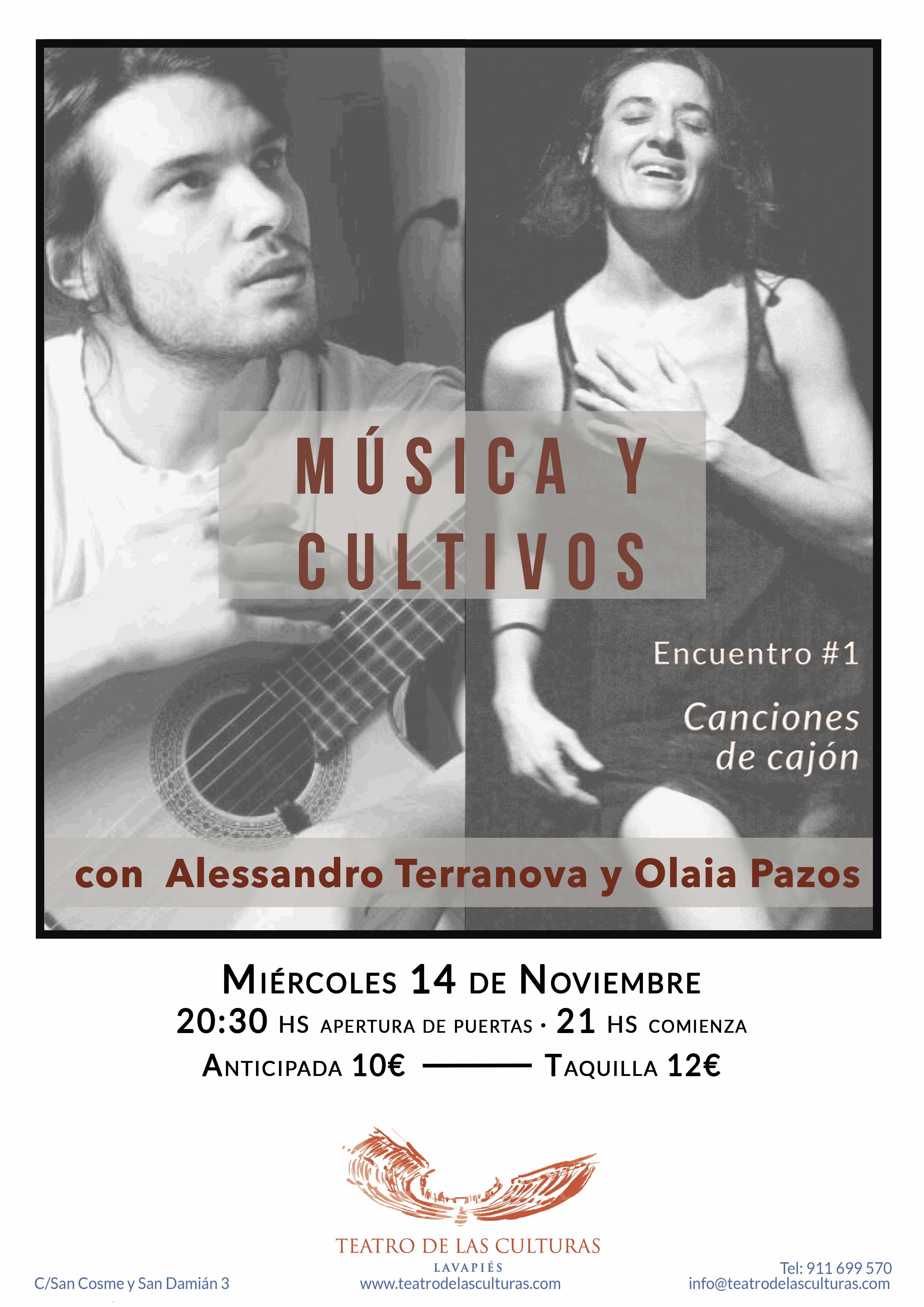 Música y Cultivos