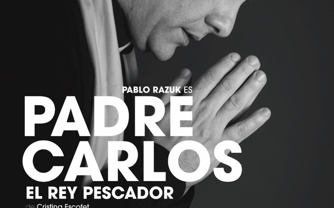 """Padre Carlos """"el rey pescador"""""""